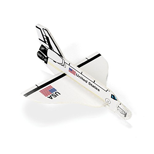 cama24com Space Shuttle Styropor Flieger Gleiter 12 Stück Mitgebsel Palandi®