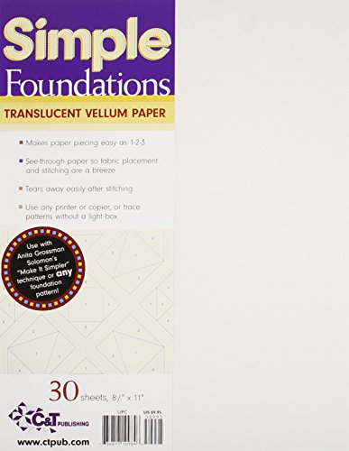 Simple Foundations Translucent Vellum Paper Translucent Vellum Paper
