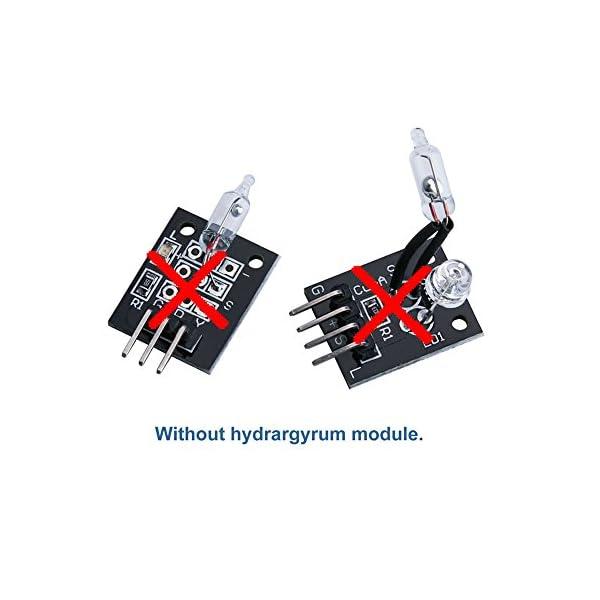 41t1aPp61uL. SS600  - ELEGOO Actualizado 37-en-1 Kit de Módulos de Sensores con Tutorial para Arduino UNO R3 Mega 2560 Nano Arduino Sensores Kit Raspberry Sensores