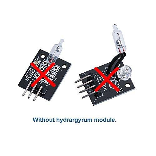 41t1aPp61uL - ELEGOO Actualizado 37-en-1 Kit de Módulos de Sensores con Tutorial para Arduino UNO R3 Mega 2560 Nano Arduino Sensores Kit Raspberry Sensores