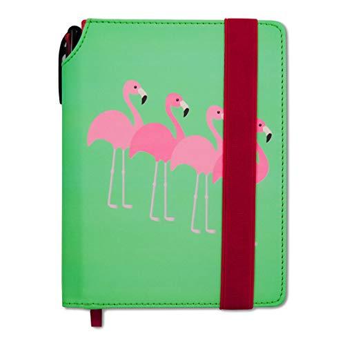 Schülerplaner DIN A5 Kalender Schülerkalender 2018-20 Flamingos