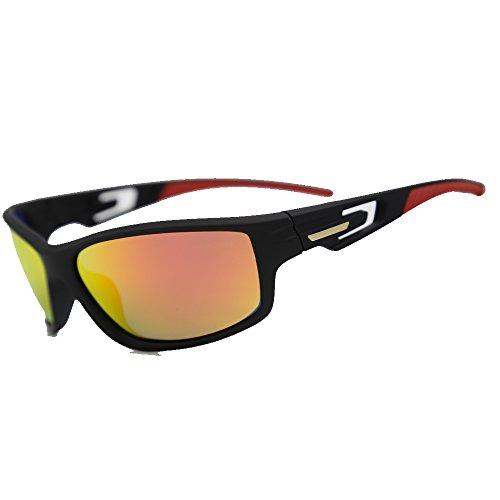 1a6b7e713e Natwve & Co Occhiali da sole polarizzati sportivi per uomo Night Vision  Ciclismo Golf Superlight Frame