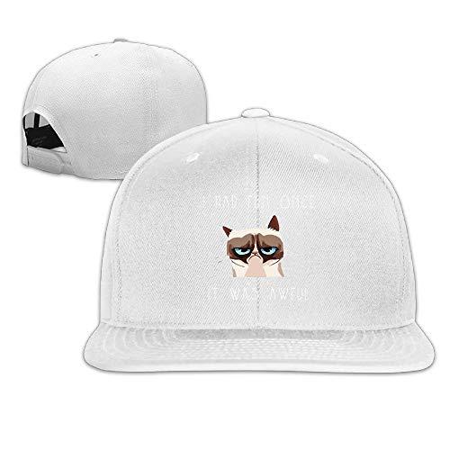 fb485609ac0a5 Ejdkdo Grumpy Cat Quotes Baseball Cap Men Women Snapback Design21