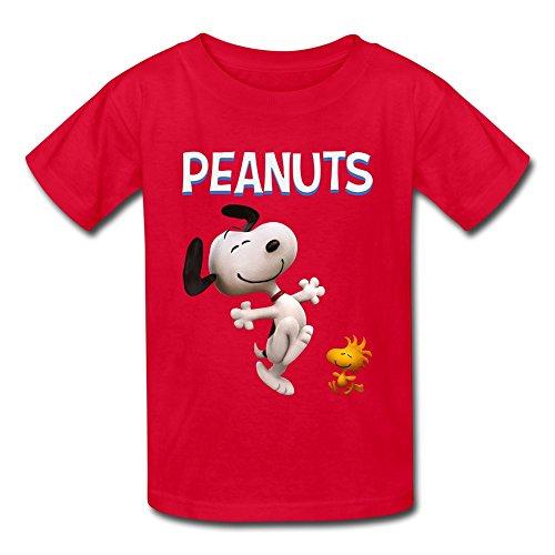 Rose Memery  Jungen T-Shirt Gr. M, Rot - Rot -