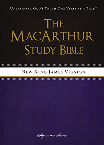 NKJV, The MacArthur Study Bible, eBook: Revised and   Updated Edition (English Edition)
