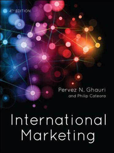 International Marketing (UK Higher Education Business Marketing)