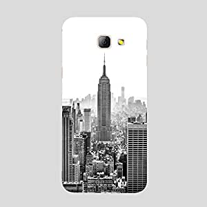 Back cover for Samsung Galaxy A7 2016 Black & White City