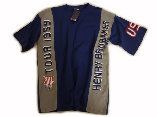 USA Kultshirt Brubaker Tour1959 T-Shirt - marine/grau Marine/Grau