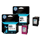 Multipack von HP für Officejet J 4500 Series ( 2x Patronen, Color + Black) J4500 Serie Tintenpatronen