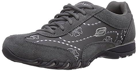 Skechers Speedsters, Damen Sneakers, Grau (CHAR), 40 EU