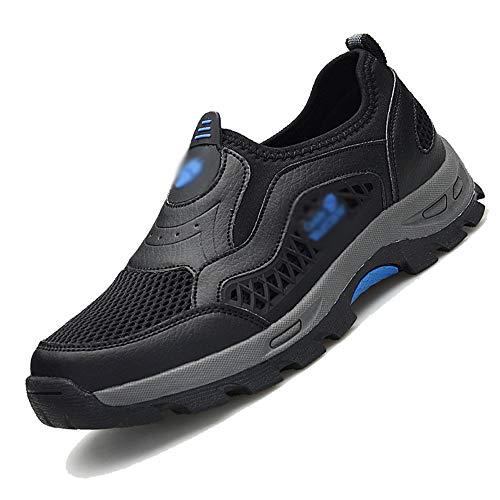 Chaussures HAIZJEN Homme, de randonnée Sportive, de randonnée, de Marche Sportives, à Semelles épaisses