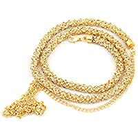 RITIH Stylish Golden Designer Traditional Gold Plated Kamarband for Women and Girls - Waist Hip Chain with Beautiful…