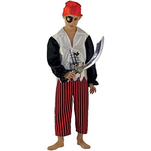 Panache Blanc - A1301796 - Déguisement Pour Enfant - Panoplie Pirate