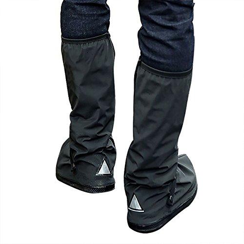 WS - Funda Impermeable para Zapatos con Reflector, Botas de Nieve, Color...