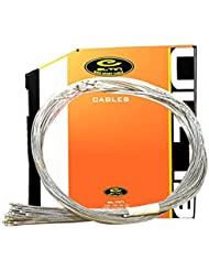 2x Cable de Freno 1800 tipo Pera para Bicicleta Acero Galvanizado Reforzado 2978