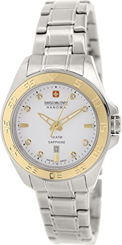 Swiss Military Hanowa Women's 06-7221-04-001-02 Silver Stainless-Steel Swiss Quartz Watch