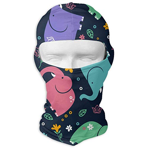 Jxrodekz Dibujos Animados de Elefantes máscara Facial Completa protección contra el Polvo...