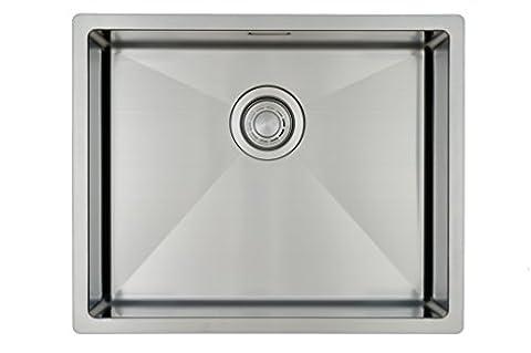 Évier de cuisine Copa Design Linea 50-40 Affleurant / Sous