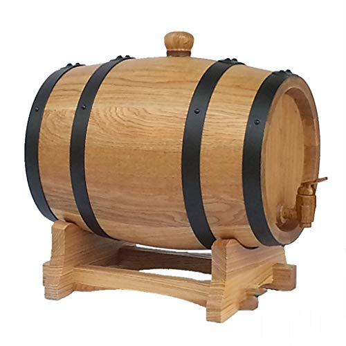 IAIZI Wine Shelf Eichenfässer, Weinfässer, kein Leim, kein Wachs Eichenfässer, Verschiedene...