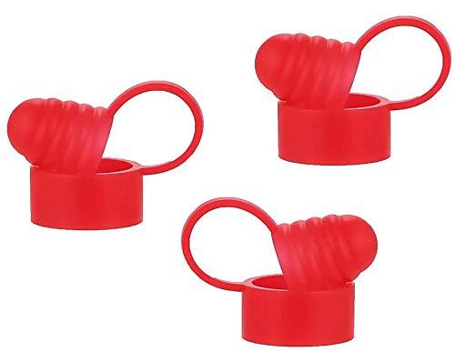 Panda Cloudz Staubschutzdeckel für DripTips (3x rot)