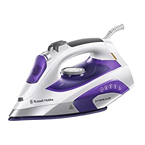 Russell Hobbs Extreme Glide Iron 21530, 2400 W, White and Purple