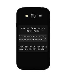 English Is Fun Samsung Galaxy Grand 3 Case