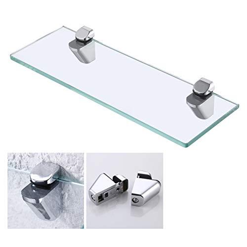 KES Estanteria Baño, Estante de cristal templado de 350 mm y 8...