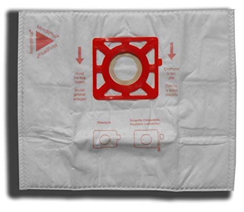 10 Vacuum Cleaner Bags for Rowenta RO1733 COMPACTEO RO1717, RO1755, RO1767, RO1783, RO1795; Power Space RO2121 RO2123 RO2125 RO2321 EA RO2335 EA; City Space RO2423, RO2441, RO2451 Wa Compacteo Ergo RO5223, RO5227, RO5255 RO5265 EA, RO5271, RO5273 Compacteo Ergo Eco, RO5295 Animal Care (Rowenta Original ZR0039) by Beutelhaus