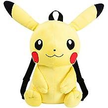 Pokemon Pikachu Afelpado Mochila - Pikachu Bag