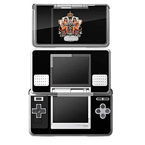 DeinDesign Skin kompatibel mit Nintendo DS Aufkleber Sticker Folie Poker Ass Spruch (Ass Ds)