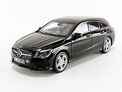 Norev NV183598 Mercedes-Benz CLA Schießbremse, Maßstab 1:18 2015, Schwarz