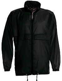 Shirtinstyle Basic Veste coupe-vent imperméable avec capuche Plusieurs couleurs Taille S à XXXL