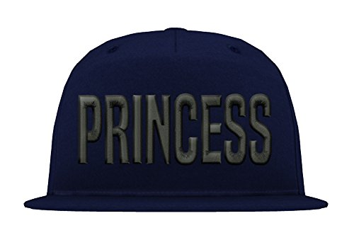 TRVPPY Kinder Junior 5 Panel Cap Modell PRINCESS, Schwarz-Navyblau, - Hat Tisa