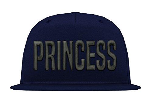 TRVPPY Kinder Junior 5 Panel Cap Modell PRINCESS, Schwarz-Navyblau, - Tisa Hat