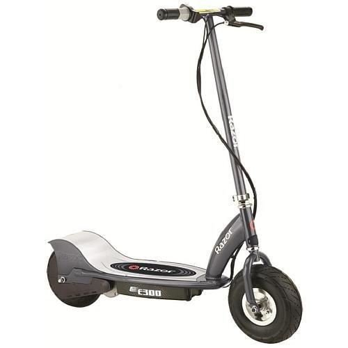 Razor E300 Electric Scooter - Matte Gray Navigation maximum Grey