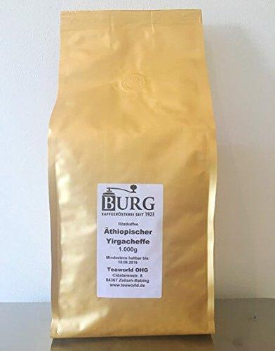 Äthiopien Yirgacheffe Grade 1 Haileslassie Ambaye - 1000g Röstkaffee in Bohnen