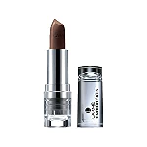 Lakme Enrich Satins Lip Color, Shade B529, 4.3g