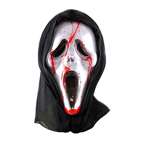 ParttYMask Maskerade,Horror Geistermaske Vampir Vollgesicht Outfit C2 ()