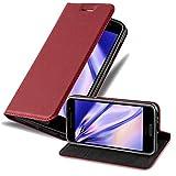Cadorabo Coque pour HTC One A9 en Rouge DE Pomme - Housse Protection avec Fermoire...