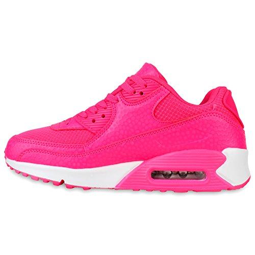 Herren Damen Sportschuhe Laufschuhe Runners Sneakers Prints Neonpink Carlet