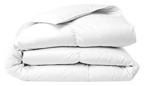 The House Of Emily Emperor Size (290cm x 235cm. For 7FT x 7FT Beds) Natural White Goose Feather and Down 10.5 TOG Duvet