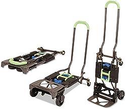 COSCO Shifter 135kg Multi Funktion Klappbar Handwagen und Sackkarre (Grün)