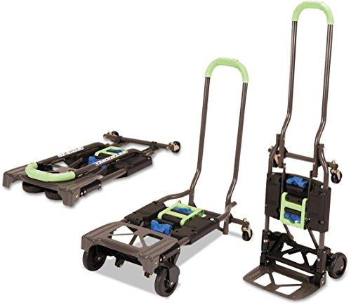 COSCO Shifter, Carretilla de Mano 135kg Plegable de Multiples Posiciones para Trabajos Pesados, Verde