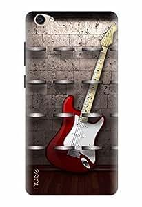 Noise Designer Printed Case / Cover for Vivo Y55L / Music / Guitar Design