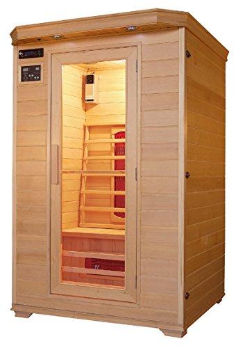 Infrarotkabine/Wärmekabine/Sauna - ECK ! für 2 Personen SONDERAKTION