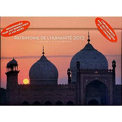 L'agenda-Calendrier Patrimoine de l'humanité 2013
