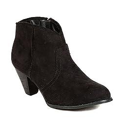 TEN Black Suede Boots