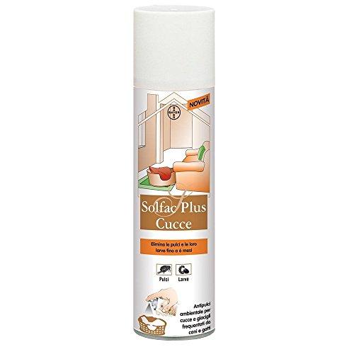 Bayer Pet Care Antiparassitario per Cane solfac Plus cucce ml. 250