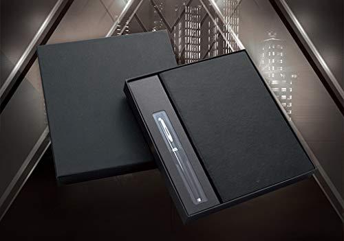 Classic Plain Paper Notebook, Hardcover und elastischer VerschlussJournal, Schwarz, 14,5 x 21 x 2,1 Zoll A5, 154 Seiten (Säurefreiem Papier Notebook)