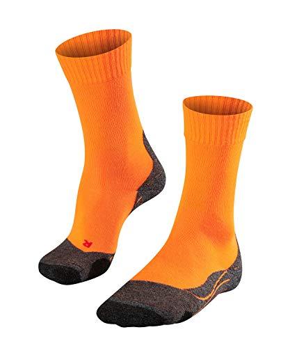 FALKE Herren TK2 Trekkingsocken, Flash orange, 42-43 -